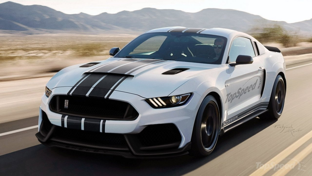 Pie4autos Ford Mustang Shelby Gt350 R